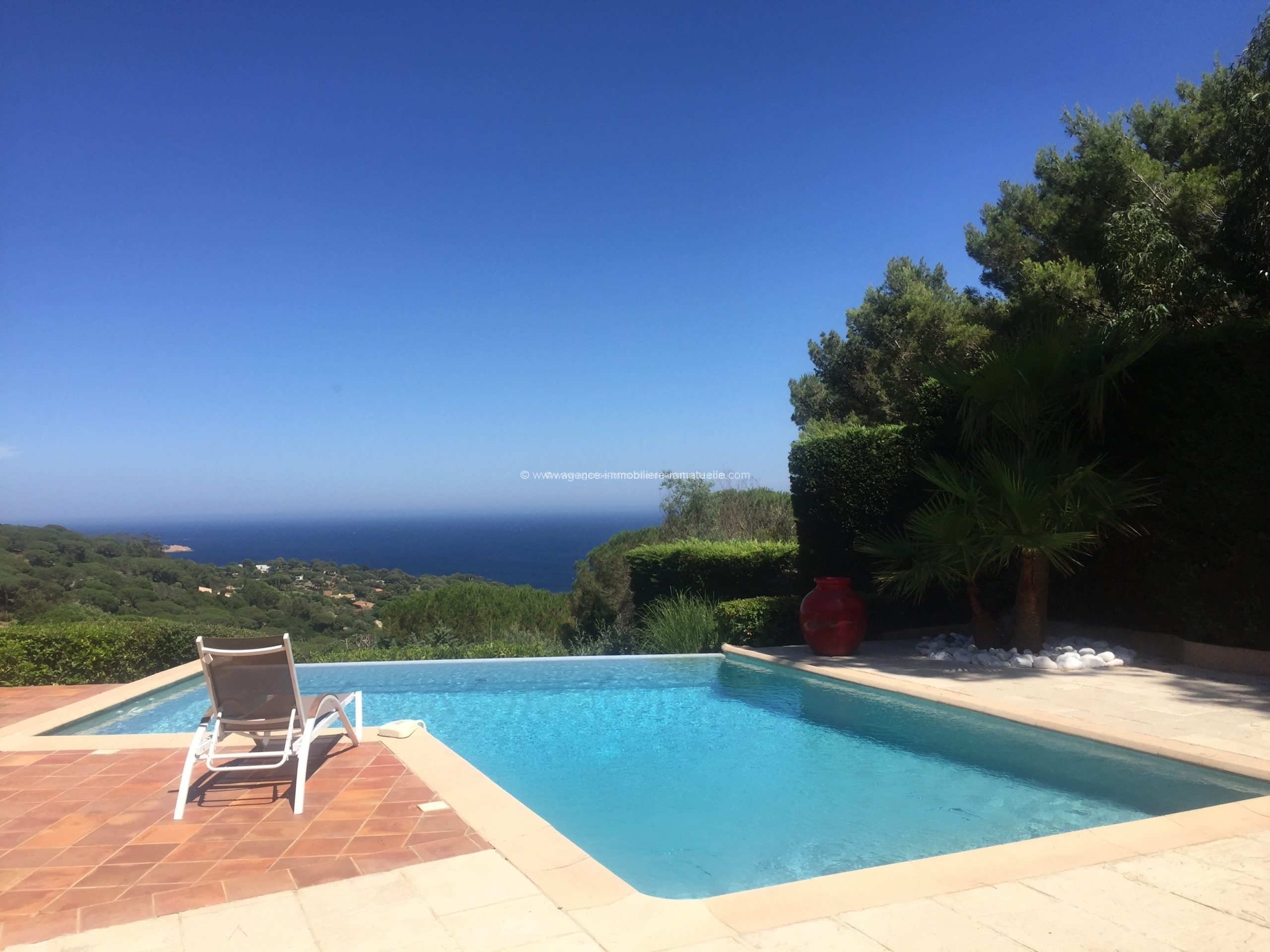 Magnifique villa avec très belle vue mer, Ramatuelle
