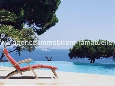 Exceptionnelle vue mer, maison de luxe, Ramatuelle