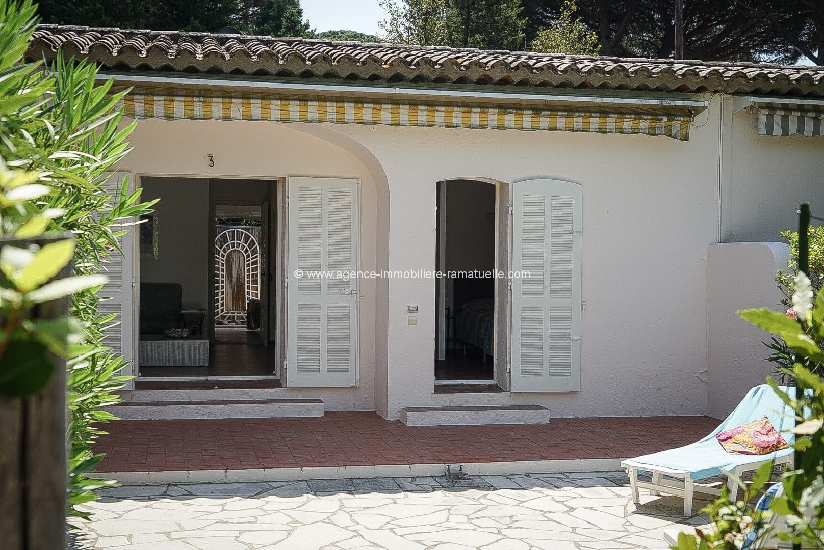 Nice house in walking distance of the center, Saint Tropez