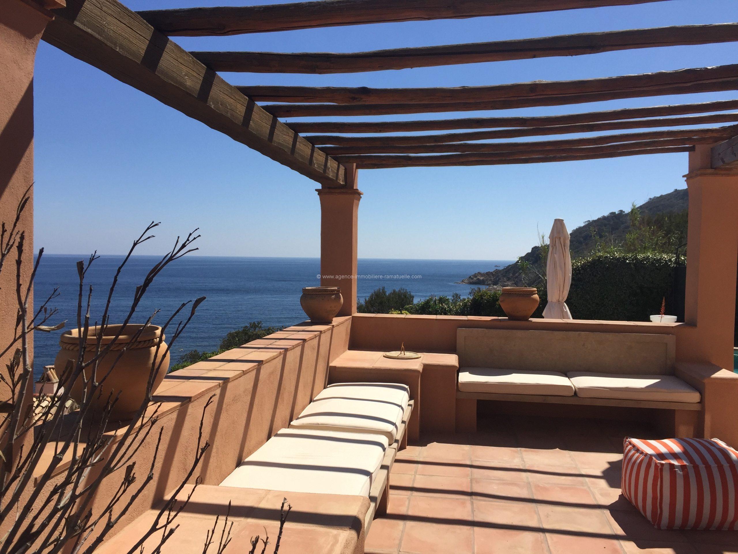 Maison de pêcheur à la Bonne Terrasse , piscine et une vue mer a couper le souffle, Ramatuelle