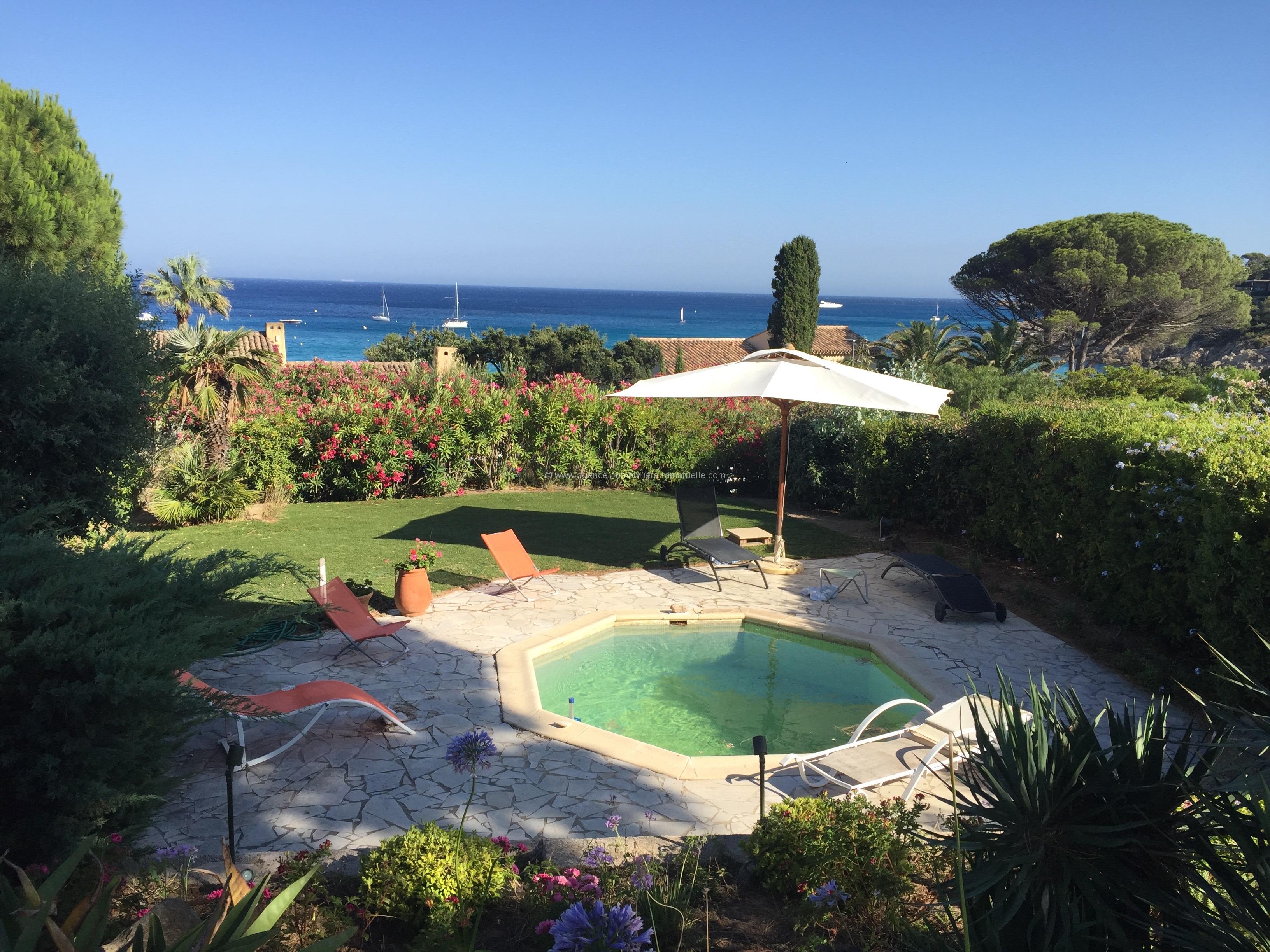 Villa vue mer, Domaine de l'Escalet, Ramatuelle