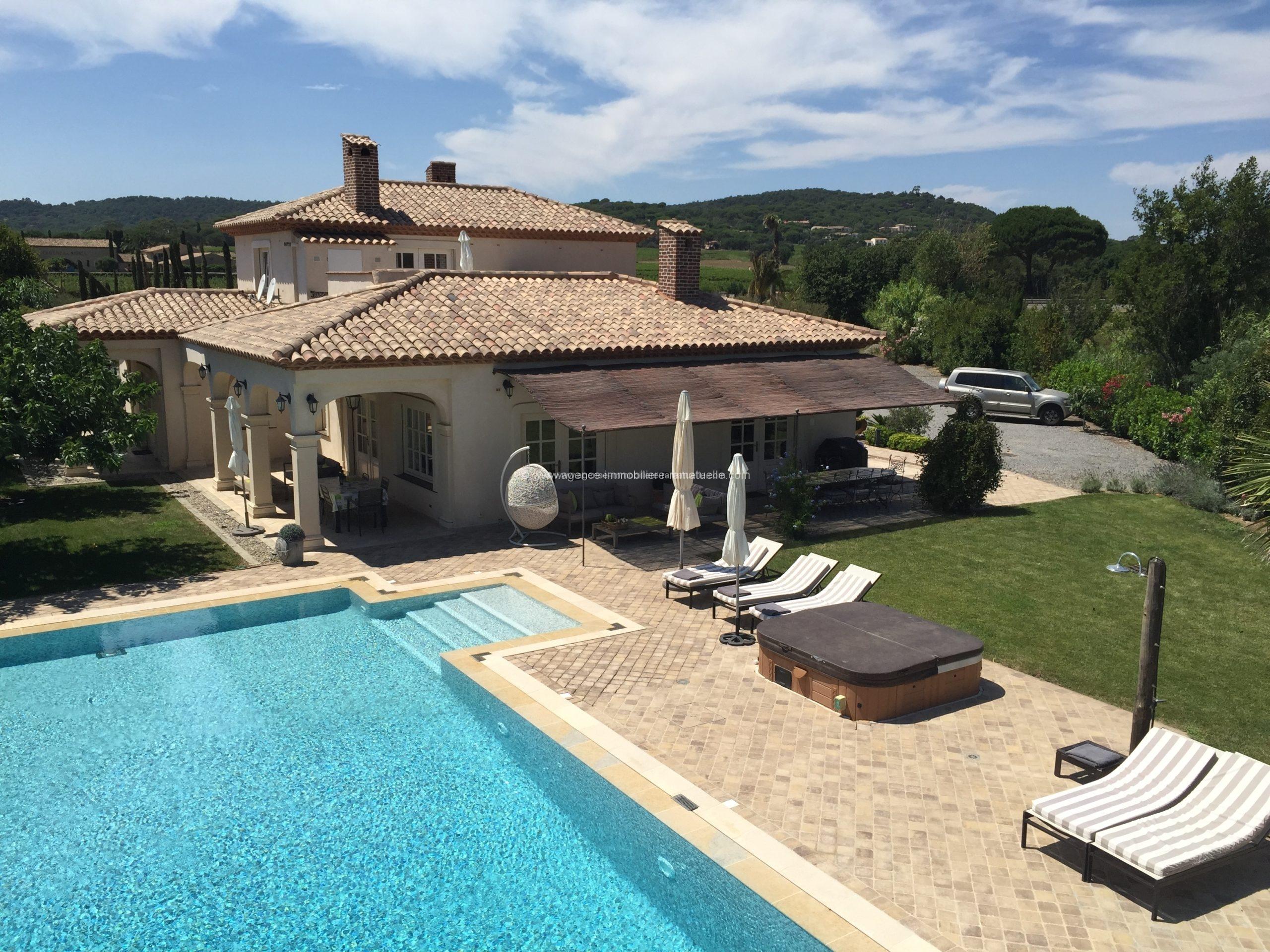 Magnifique villa près des plages de Pampelonne, Ramatuelle