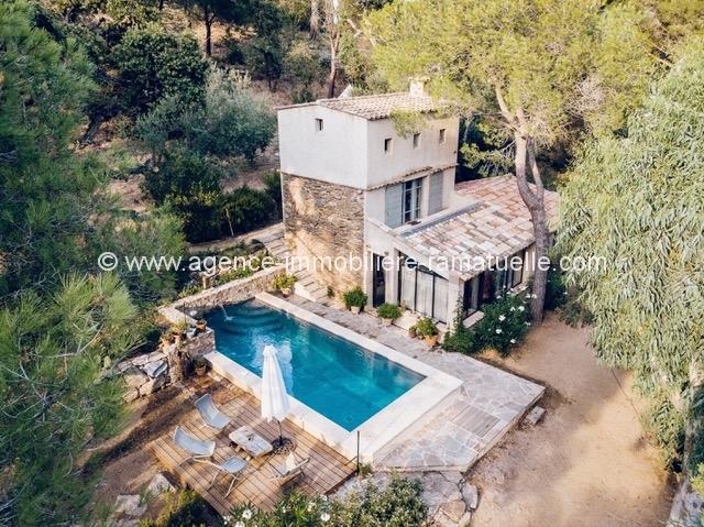 Authentique bastidon provençal avec piscine Ramatuelle