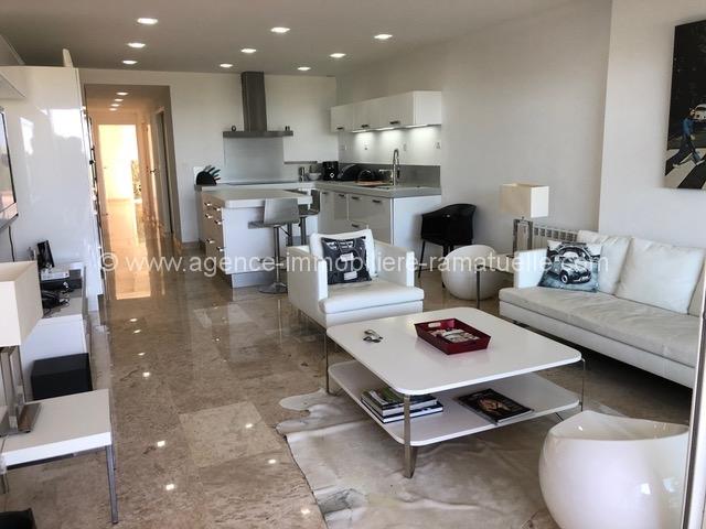 Appartement face à la mer  Cap Nioulargue – Quartier de Bonne Terrasse  –  Ramatuelle