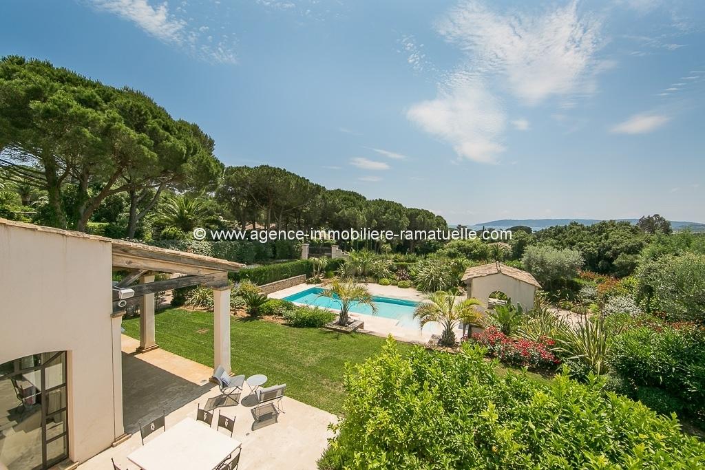 Villa Byblos –  Domaine de la Capila  Plage a Pieds – Saint Tropez