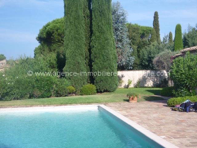 Belle villa provençale sur les hauteurs de l'Escalet avec vue mer et belle piscine –  Ramatuelle