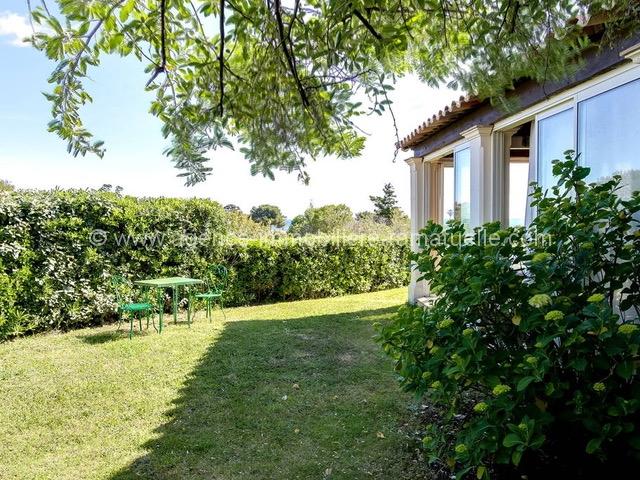 jardin côté